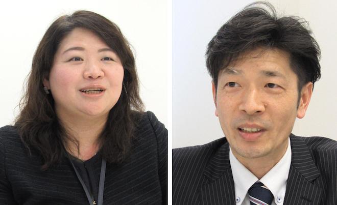 鈴木氏(左)と後藤氏