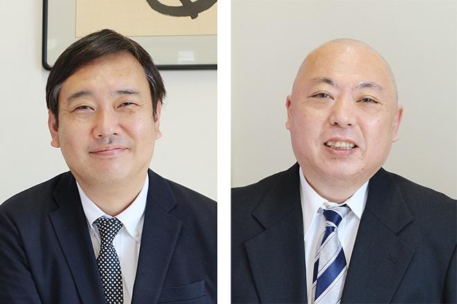竹中氏(左)と樽本氏