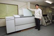 全面的にサーマルダイレクトを<br />採用した津田印刷
