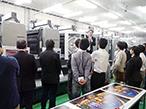 アグフア、原多印刷で「速乾印刷・標準印刷実演セミナー」