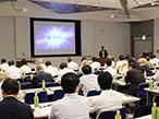 IGAS2018レポート|AJC、LED-UVセミナーで錦明印刷社長が講演