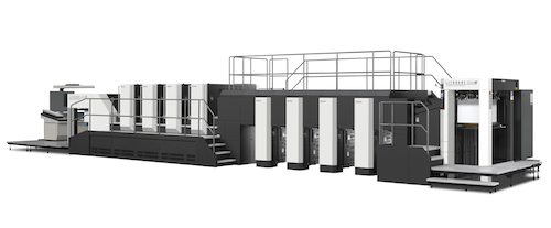 KOMORI、「China Print 2017」に3台の印刷機を出品