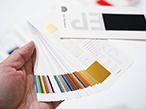 EP、日台デザイナーが共同開発 - 86種類収録「箔押し見本帳」