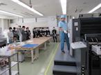 日印産連、技能五輪「印刷」職種の競技課題を体験