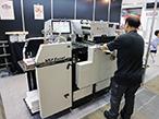 IGAS2018レポート|平和機械、箔押・抜き・浮出の複合加工機