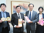 北海道工組、北海道庁危機対策局に避難所サポートセットを寄贈