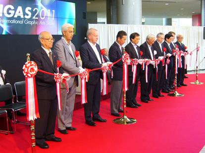 IGAS2011、国内最大の印刷総合展示会ついに開幕
