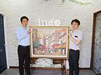 アイ・エヌ・ジー GA、販促EXPOで絵画複製など「加飾技術」紹介