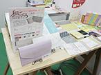 国府印刷社、P・Iショーで越前和紙使用の抗菌マスクケース紹介