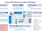 drupa2016|小森、会期中のデモスケジュールが決定