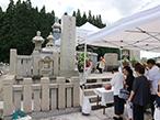 高野山納骨塔奉讃会、慰霊祭・追悼法要に150名が参拝