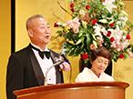 令和元年春 旭日双光章、南貴夫氏の受章記念祝賀会に120名