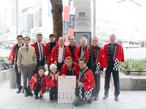 京印工組、街頭宣伝活動で組合事業と印刷業界をアピール