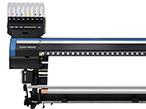 ミマキ、布・紙に対応するハイブリッド式テキスタイルIJプリンタ