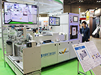 NVS、TOKYO PACKで新製品のブランクス検査装置を紹介