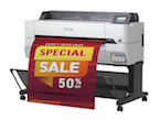 エプソン、多彩な印刷用途に対応する大判IJプリンター発売