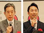 JP産業展協会、「プレJP」で金羊社・浅野会長と浅野社長がリレー対談
