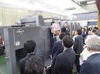 RMGT、三進社で「RMGT1020ST-5+LED-UV」実機内覧会開催