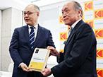 コダック、豊国印刷で「SONORA Plate Green Leaf Award」授賞式