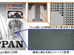 凸版印刷、PE分野での微細印刷技術を確立