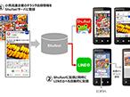 凸版印刷、電子チラシ「Shufoo!」がLINEユーザーにも情報配信