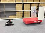 ZMPと凸版印刷、ロボ×ICタグで無人棚卸ソリューション