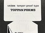 トッパン・フォームズ、簡易センサー利用の検知機能付きICラベル