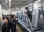 ハイデルベルグ、XL106を導入したウエマツ・戸田工場を見学