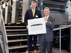 ハイデルベルグ社、100台目のXL倍判印刷機(VLF)を米国に納入