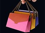 山櫻、+labで革のような紙バッグに入った名刺サイズのメモ発売